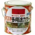 アサヒペン 油性多用途カラー 0.7L 赤