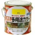 アサヒペン 油性多用途カラー 0.7L 黄色