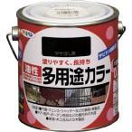 アサヒペン 油性多用途カラー 0.7L ツヤ消し黒
