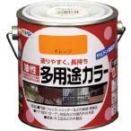 アサヒペン 油性多用途カラー 0.7L オレンジ