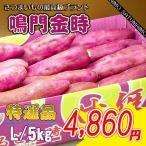 特秀品 徳島産の鳴門金時芋Lサイズ5kg