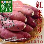 送料無料 茨城県JAなめがた さつまいも「紅まさり」 Sサイズ 約5キロ(25から30本) さつま芋 サツマイモ 薩摩芋