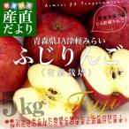 送料無料 青森県より産地直送 JA津軽みらい ふじりんご CA貯蔵品 5キロ(18玉) 林檎 リンゴ ※クール便