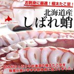 章魚 - 送料無料 北海道産 お刺身用 極太たこ足(しばれだこ)3本セット 合計1キロ前後 柳蛸 やなぎたこ