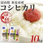 平成28年産  富山県 氷見市産 コシヒカリ 10キロ(5キロ×2袋) お米 富山県米