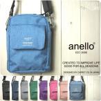 anello アネロ ショルダーバッグ レディース 高密度杢ポリ ミニショルダー