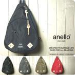 ショッピングボディバッグ anello アネロ ボディバッグ レディース メンズ 高密度ナイロン