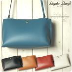 Legato Largo レガートラルゴ ショルダーバッグ レディース 軽量 ボンディングフェイクレザー ミニ ショルダーバッグ