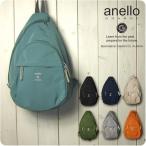 anello アネロ ボディバッグ レディース しっとり軽量ポリエステル素材 縦型 ボディバッグ