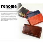 キーケース メンズ レノマ renoma キーケース 小銭入れ付き 501601