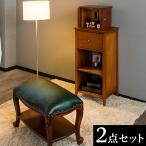 仏壇台 チェア 2点セット 幅42 天然木 完成品 インテリア仏壇 ミニ仏壇 黄金比 無垢材 収納