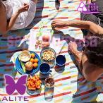 エーライト ALITE ミドーマット(エースマルチストライプ) アウトドア キャンプ マット シート コンパクト ピクニック レジャー