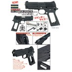 NOVA スライド フレームKIT 東京マルイ MEU用 SFA CHAMPION OPERATOR MAT Black TM-GMK-038-BK-87000-WOE