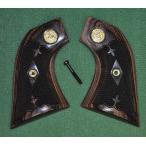 Altamont グリップ Brown コルトSAA メダル付き ダイヤチェッカー ALT-7500