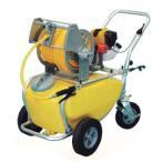 4サイクルエンジン式小型動噴「ガーデンスプレーヤー」MS-ER50T:50リットル