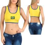 ブラジル ショート タンクトップ・イエロー /黄色 日