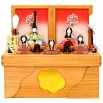 雛人形 木目込み 五人収納飾り 木村一秀作 安土雛
