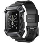 SUPCASE Apple Watch Series 3�ݸ���� �Х�� ��ۼ� ���åץ륦���å� ����� 3 �б� ���С�(42mm, ��)