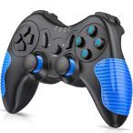 switch コントローラー 任天堂 ワイヤレス プロコン  BEBONCOOL Bluetooth接続  スイッチ ジャイロ デュアルショック Blue 定番