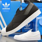 ���ǥ����� ���ˡ����� �����ѡ������� ����åݥ� ��� ��ǥ����� adidas SUPERSTAR SLIP ON BZ0111 BZ0112 �֥�å� �ۥ磻�� ��˥��å��� �� ���塼��