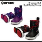 キッズ ジュニア クロックス クロックバンド2.5 ガストブーツ ミッキーCrocs Crocband2.5 Gust Boots Mickey