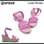 ショッピングCROCS レディース クロックス レイ ウェッジ レディース Crocs Leigh Wedge Womens