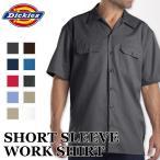 ディッキーズ メンズ半袖ワークシャツ DICKIES WORK SHIRT #1574/ 大きいサイズ カジュアル 半袖 作業着 作業服