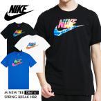 ナイキ Tシャツ メンズ NIKE 半袖 ウェア DB6161 コットン ロゴ M NSW TEE SPRING BREAK 大きいサイズ スポーツ クルーネック シンプル ティーシャツ*