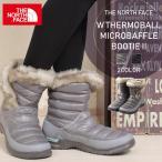 【処分大特価】ノースフェイス THE NORTH FACE ウィメンズ W THERMOBALL MICROBAFFLE BOOTIE レディース 婦人 女性 バッフルブーティー サーモボール ブーツ