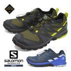 サロモン シューズ メンズ 靴 SALOMON 登山靴 防水 トレッキング アウトドア スニーカー XA ROGG GTX ゴアテックス キャンプ トレイルランニング
