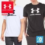 UNDER ARMOUR アンダーアーマー メンズ SPORTSSTYLE LOFO SS UA Tシャツ ビッグロゴ 紳士 男性 1329590 スポーツウェア トップス*
