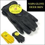 NAPA GLOVE ナパグローブ DEERSKIN LEATHER GLOVE ディアスキンレーサーグローブ 裏地フリース レザー手袋 NAP002 送料無料