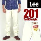 Lee リー 201 ウエスターナー ツイル ホワイト AMERICAN STANDARD 送料無料