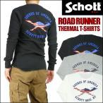 ショッピングschott Schott ショット サーマル 長袖Tシャツ ROAD RUNNER 3153064 送料無料