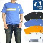 20%OFFセール HANG TEN ハンテン ポケット付き ボーダー半袖Tシャツ TM6386