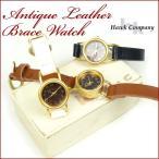 古董手錶 - Hawk Company ホークカンパニー アンティーク レザーブレスウォッチ 時計 6430 送料無料 g-wa