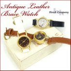 Antique Watches - Hawk Company ホークカンパニー アンティーク レザーブレスウォッチ 時計 6430 送料無料 g-wa
