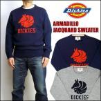 ショッピングアメリカ Dickies ディッキーズ アルマジロ ジャガードセーター ニット 164M30WD45 送料無料 mtl-nt
