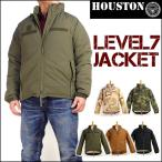HOUSTON ヒューストン メンズ ミリタリージャケット LEVEL7 JACKET レベル7 ジャケット 50323 送料無料