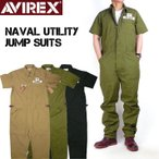 AVIREX ���ӥ�å��� �����륤���� ALL IN ONE �ߥ� Ⱦµ�ĥʥ� NAVAL UTILITY JUMP SUITS 6196083