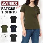 セール! AVIREX アビレックス レディース ファティーグTシャツ 半袖ミリタリーTシャツ FATIGUE T-SHIRTS 6223026