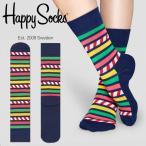 happy socks ハッピーソックス メンズ レディース 靴下 ソックス ATHLETIC STRIPE&STRIPE SOCK 2016 秋 冬 秋冬