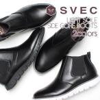 サイドゴアブーツ メンズ 合成革靴 ショート カジュア