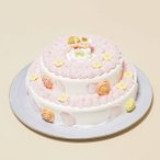 2段デコレーション5号×7号(8〜10名様分):バースデー・ウェディング・結婚記念日