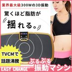 EasyChange ぶるぶる振動マシン 業界最大級300Wの3D振動 強力ブルブル振動マシン