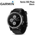 fenix 5s Plus Black フェニックス5s プラス ブラック アウトドアGPSウォッチ Wi-Fi対応 010-01987-62 GARMIN (ガーミン)