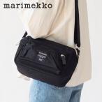 マリメッコ marimekko MY THINGS (マイシングス) ショルダーバッグ ROADIE(ローディ)ブラック ネイビー バッグ 旅行 トラベル 定番 ギフト