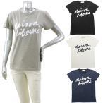 メゾンキツネ MAISON KITSUNE ハンドライティング Tシャツ HANDWRITING T TシャツFW17W707