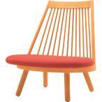 和風座いす 布張り高座椅子 スポークチェアー 天童木工