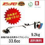 背負い式刈払機 (ビーバー)  K3W棹 + B367Zエンジンタイプ 刃角度可変式